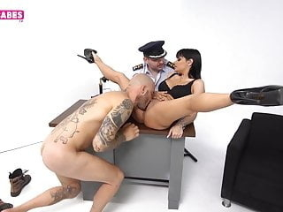 SUGARBABESTV: Greek police sex in the office