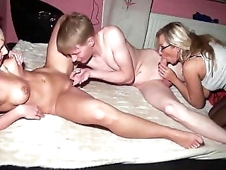 3some sex with milf and 18yo