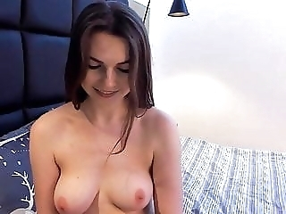 Sexy girl with pretty tits