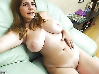 Hot Chubby Big Natural Tits Teen Masturbating