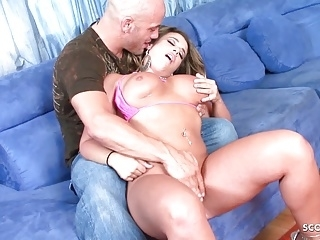 Big Booty and Tits Latina Teen Vanessa Lee get Rough Fuck